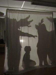 """Atelier """"Les résonances de l'ombre"""" © DR"""
