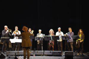 Airelle Besson & Euroradio Jazz Orchestra 2017 © Atelier photo des Unelles