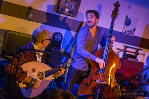 Concert chez l'habitant - Ihab Radwan, Joan Eche-Puig © Francis Bellamy