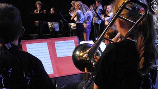 orchestre a l'ecole © tmc