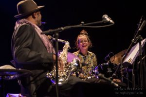 Anne Paceo & Archie Shepp © Francis Bellamy