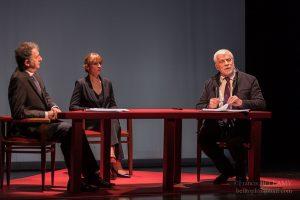 Le débat Mitterrand Chirac © Francis Bellamy