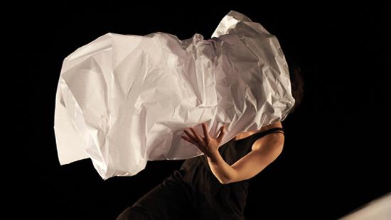 papiers/dansés © l d aboville